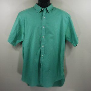 Brooks Brothers Supima Cotton Button Down Green